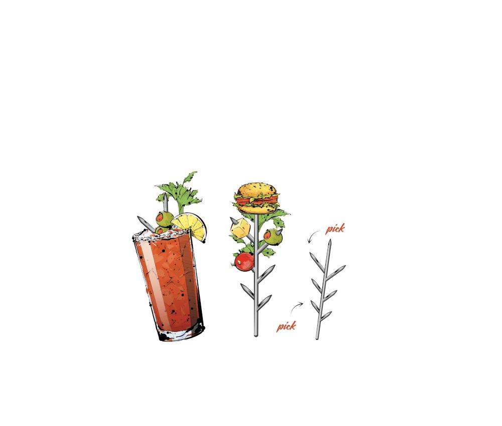 Bloody Mary Tree